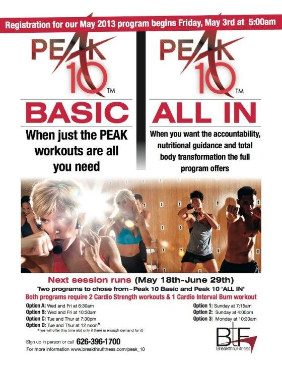 peak flyer